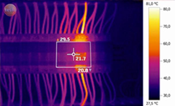 Thermographie infrarouge application électrique